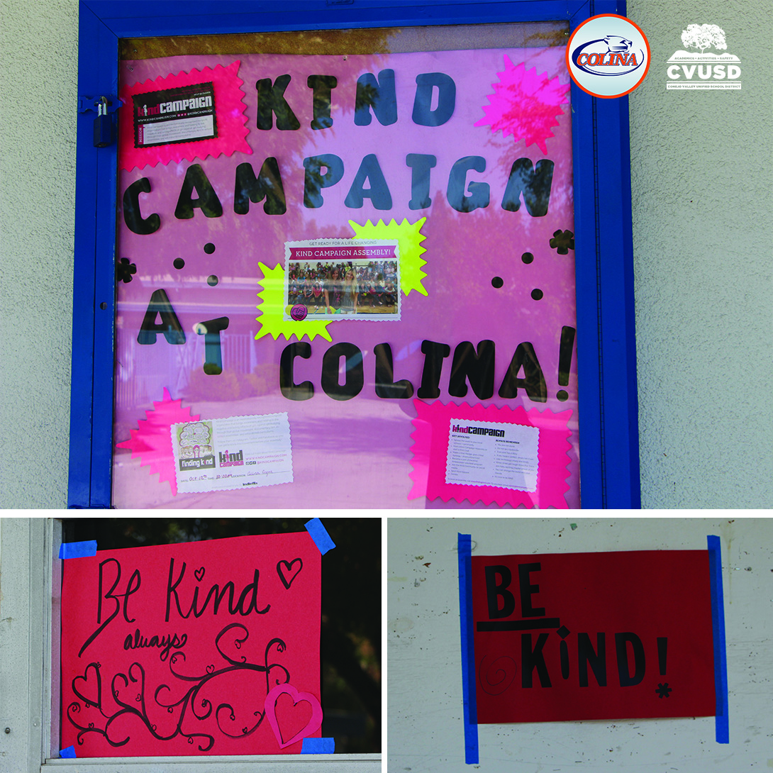 Kind campaign posters