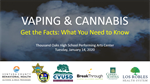 You asked – we answered: A follow-up to the January 14th educational workshop on the topic of vaping & cannabis