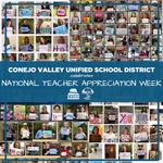 CVUSD Celebrates National Teacher Appreciation Week - May 4-8, 2020