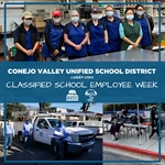 "CVUSD Celebrates ""Classified School Employee Week"" - May 17-23, 2020"