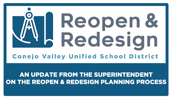 An Update from the Superintendent on the Reopen and Redesign Planning Process