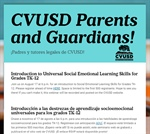 CVUSD Family Webinar Series