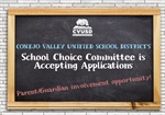 Now Accepting Applications: School Choice Committee