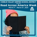 CVUSD Celebrates Read Across America Week: March 1st - March 5th
