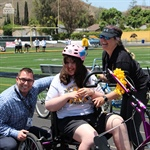 NPHS Unveils Adaptive Bicycle at Special Ceremony