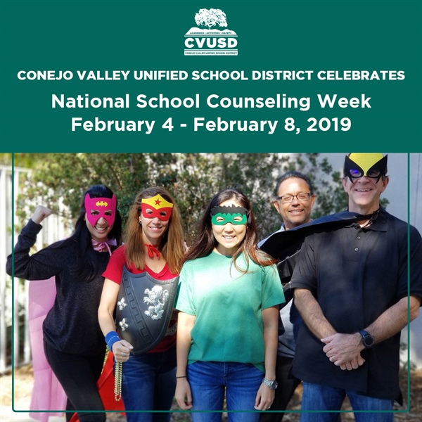 CVUSD Celebrates National School Counseling Week