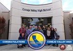 Congratulations Conejo Valley High School: A 2019 Model Continuation School