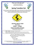 Upcoming Event: Spring Transition Fair