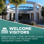 Important School Visitor Information: New Electronic Visitor Management System Coming to All CVUSD Schools