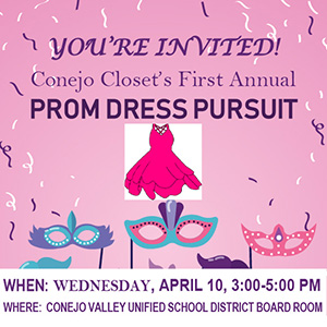"Join Us for ""Prom Dress Pursuit"" on April 10th!"
