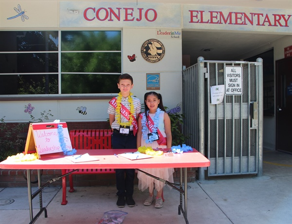 Conejo Elementary and OCLM Celebrate Leadership Day