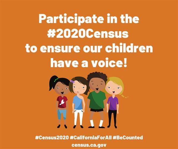 Participate in the 2020 Census to Ensure our Children Have a Voice