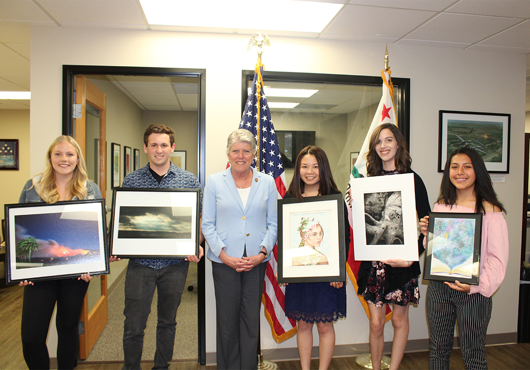 Student artists and artwork
