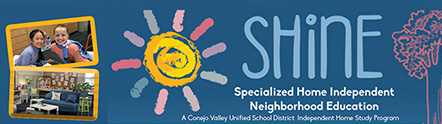 Shine students and logo