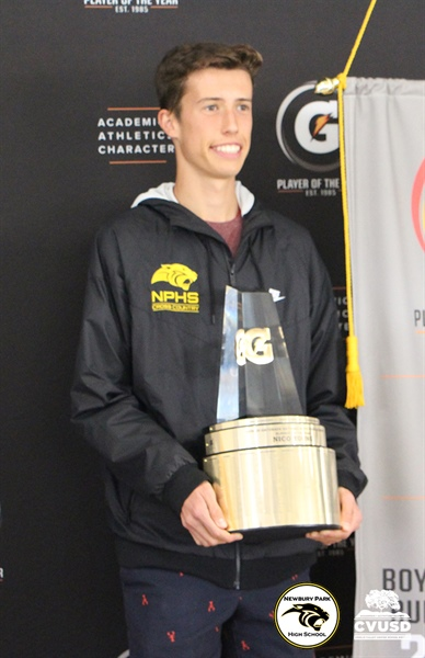 Newbury Park High School Student-Athlete Named Gatorade California Boys Track & Field Player of the Year