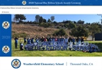 Weathersfield Elementary Receives 2020 National Blue Ribbon Schools Award in Virtual Ceremony
