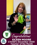 Congratulations Eileen Moore of TOHS - Our December 2020 Teacher of the Month!