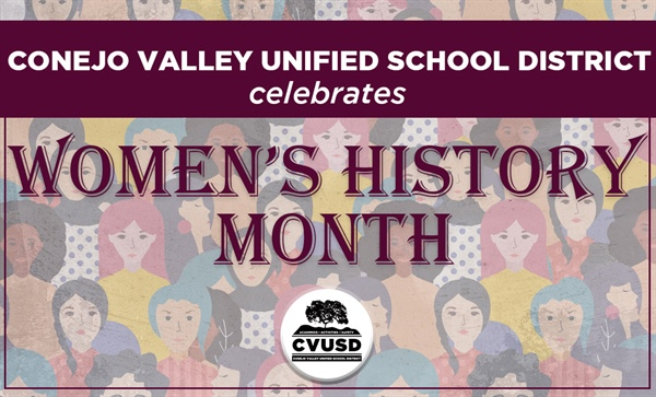 CVUSD Celebrates Women's History Month